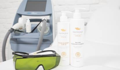 laser and cosmeticts for hair removal