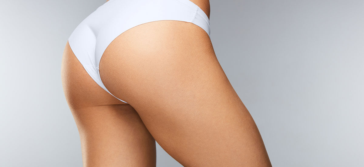 white panties on woman hip